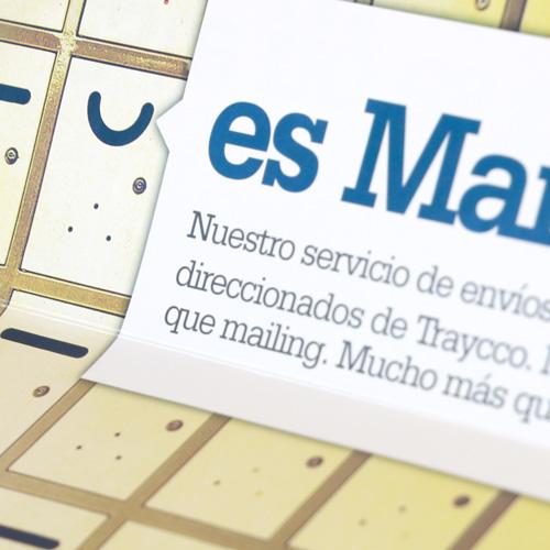 Mailing de presentación de producto