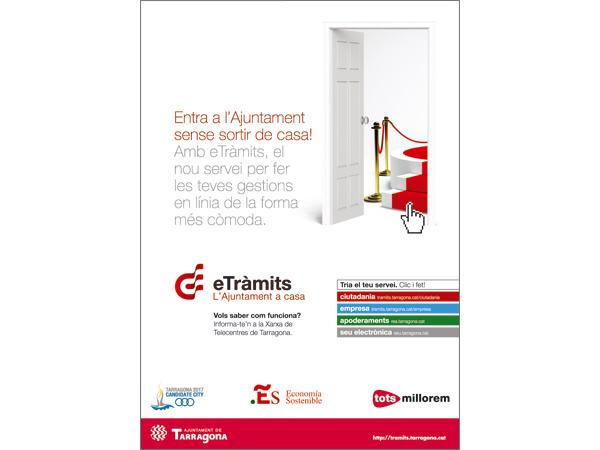 Creación de un anuncio y cartel del Institut de Serveis Socials de Tarragona - Snik Comunicación