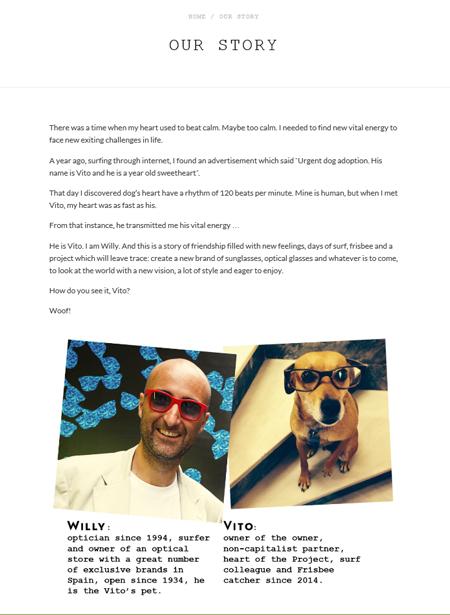 Creación de contenidos Vito & Willy