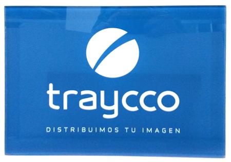 Imagen de Diseño de la placa identificativa de la puerta de entrada de metacrilato, dibond de 4 mm de grosor con protección UV, para mantener la coherencia y la identidad corporativa de la marca