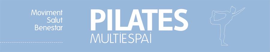 Diseño del rótulo de Pilates Multiespai ubicado en Roda de Berà