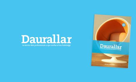 Diseño, creación e impresión de la revista Daurallar.
