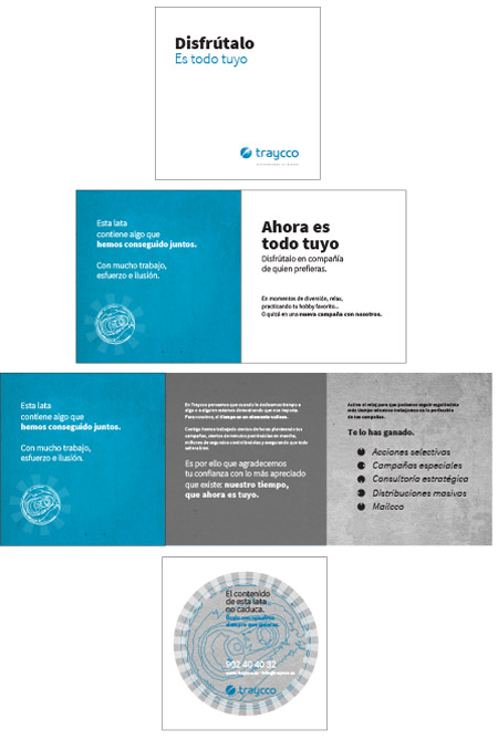 Campaña de Marketing Directo de Traycco para branding y fidelización realizada