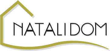 Imagen de creación y diseño del logotipo de NataliDom, agente inmobiliario ruso ubicado en la Costa Dorada de Tarragona.