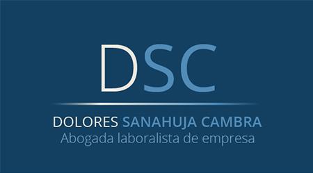 Imagen de diseño de logotipo de Dolores Sanahuja, Abogada Laboralista de empresas