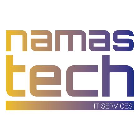 Diseño de logotipo de redes sociales para Namastech. Dirección creativa: Sonia Compadre. Dirección de arte: Carlos Gayo. Fecha: Enero de 2016