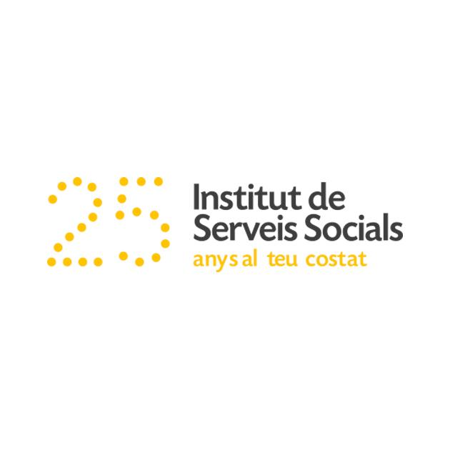 Logotipo para el 25 aniversario del Institut de Serveis Socials de Tarragona - Snik Comunicación