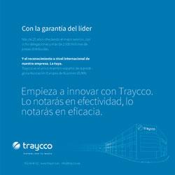 Idea acción velcro con envío de catálogo de servicios de innovación a clientes y potenciales usuarios de los servicio de buzoneo de Traycco, desarrollado por Snik Comunicación.