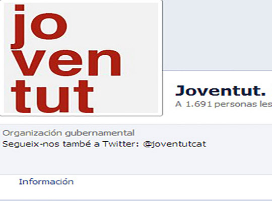Creación de contenidos para la página de Facebook del Departament de Joventut - Snik Comunicación
