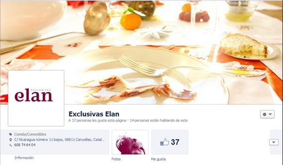 Servicios de Community manager para Exclusivas Elan en Facebook - Snik Comunicación