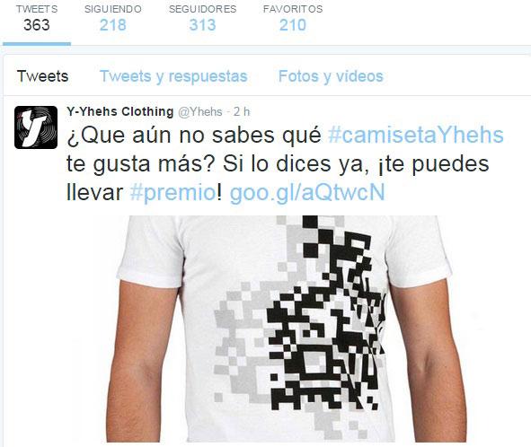 Gestión redes sociales YHEHS Clothing - Snik Comunicación