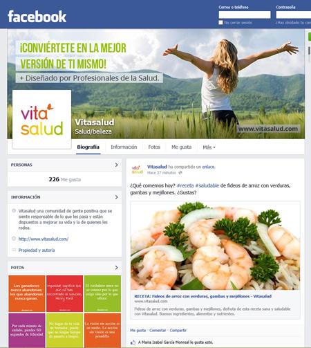 Facebook Vitasalud