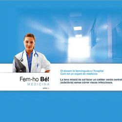 Desarrollo de una aplicación web para a la Universitat de Barcelona (UB) basada en cuatro pruebas-test de cuatro especialidades: medicina, enfermería, podología i odontología.