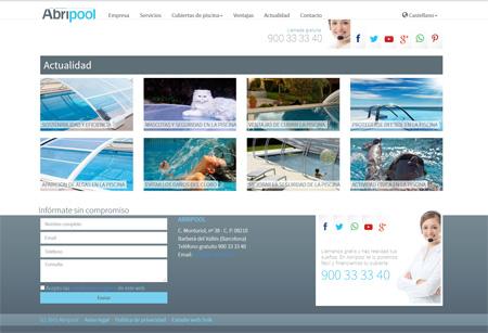 Imagen sobre actualidad sobre cubiertas de piscina, mantenimiento y diseño de jardines