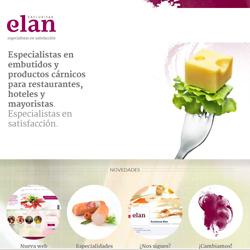 Nuevo lanzamiento: el web de Exclusivas Elan, empresa de productos cárnicos y embutidos para el sector Horeca (hoteles, restaurantes y bares) que ha confiado en Snik Comunicación para el desarrollo de su web.