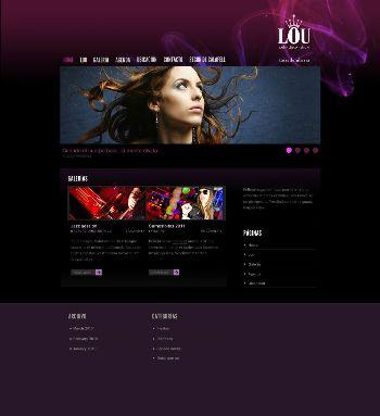 Imagen del diseño del web de Lou Torredembarra desarrollado por Snik Comunicación