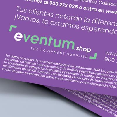Diseño de un mailing para Eventum